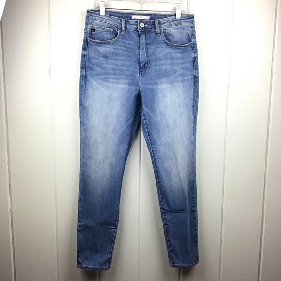 Kancan Jeans Kancan Stonewashed Distressed Skinny Jeans 3 Poshmark